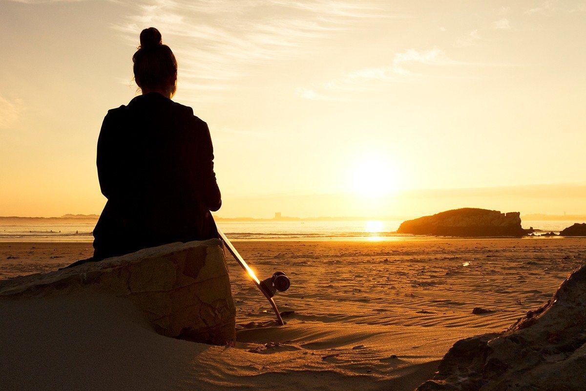 sunset beach Ujusansa