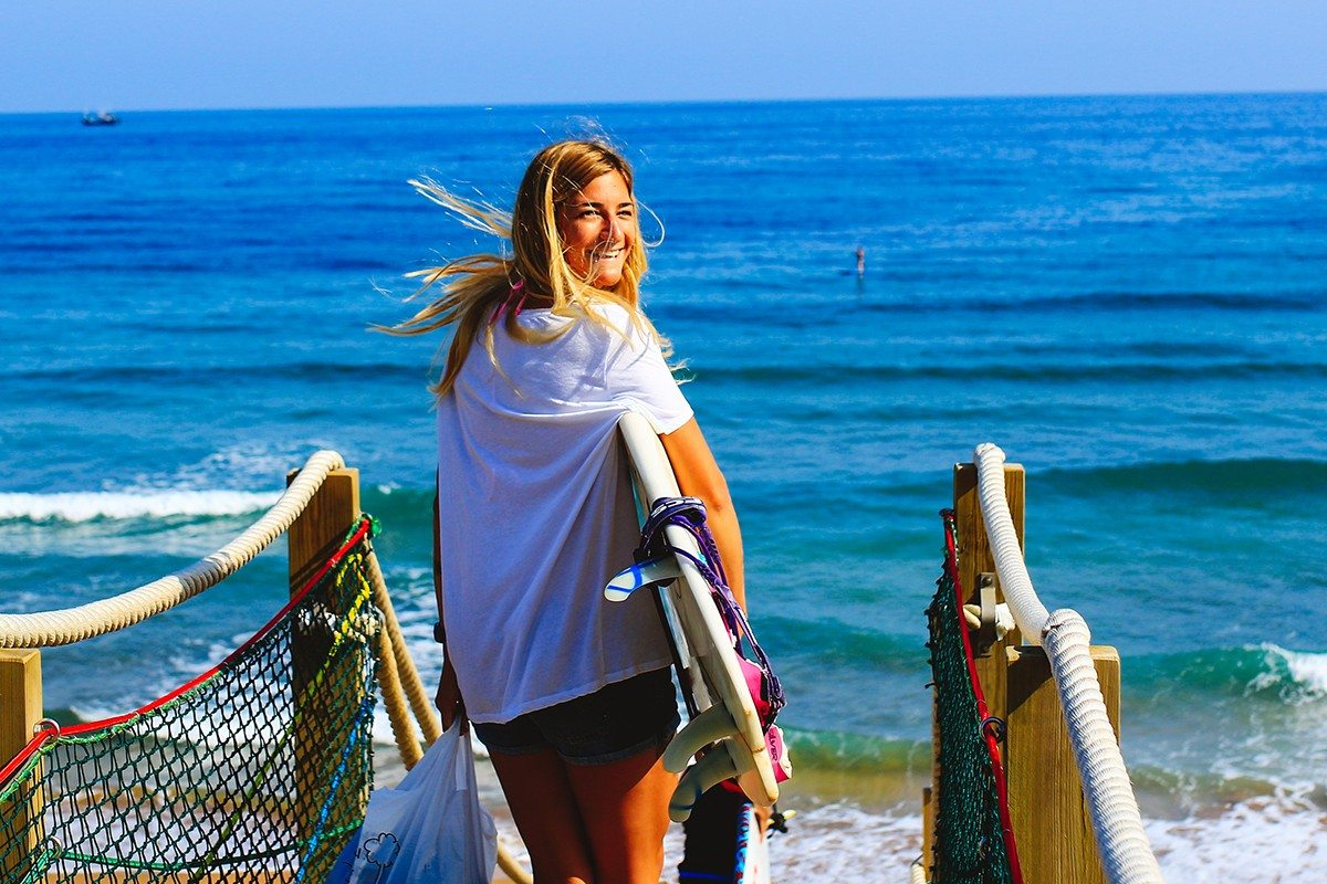 Surf girl Miha Godec