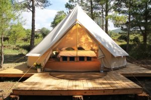 glamping tipi tent