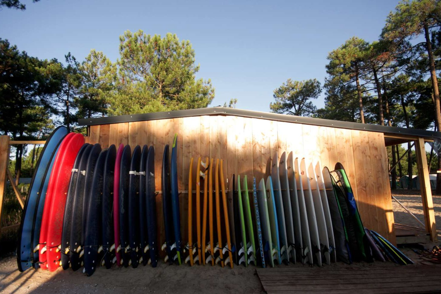 Surf Camp France surboards